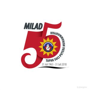 Logo Milad Tapak Suci