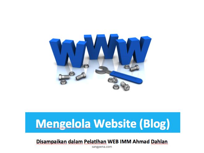 Mengelola Website