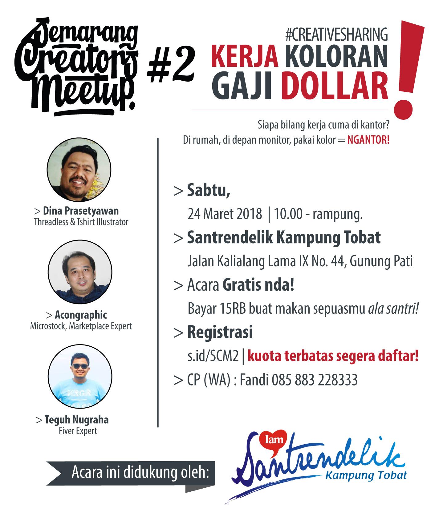 Semarang Creator Meet Up